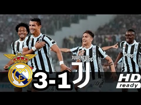 Ronaldo vs Real Madrid 3-1 – All Goals & Extended Highlights (ICC) 5/8/2018 – Real Madrid vs Juven