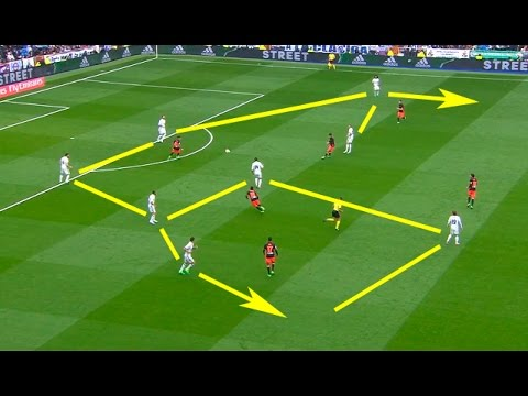 Real Madrid Top 20 Combinations / Counter Attacks 2016/2017