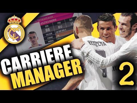 FIFA 17 – REAL MADRID – CARRIÈRE MANAGER – 115,000,000€ POUR GRIEZMANN ! #EP.2