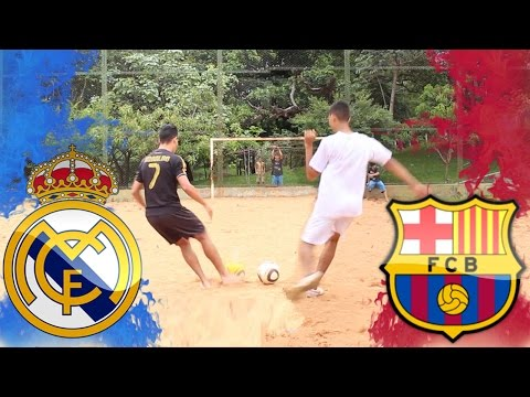 ⚽ Desafio de Futebol ▶ Real Madrid vs Barcelona ▶ El Classico