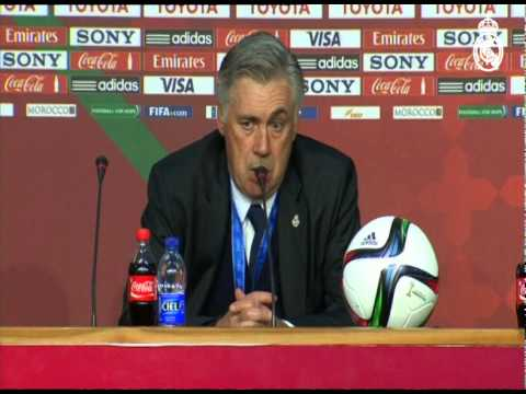 "Ancelotti: ""2014 has been a fantastic, unforgettable year"""