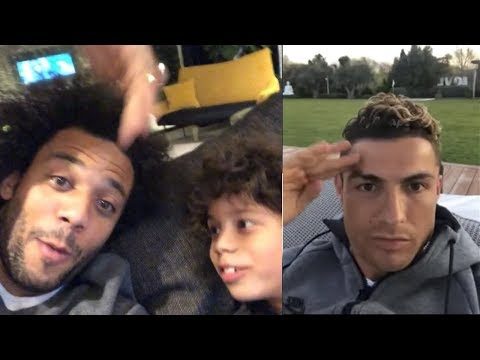 MARCELO`S EMOTIONAL REACTION TO CRISTIANO RONALDO LEAVING REAL MADRID!