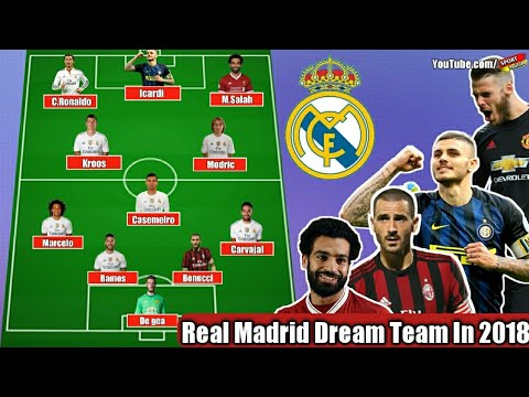 Real Madrid DREAM TEAM In 2018 | Feat. Icardi, M.Salah, De Gea, Bonucci