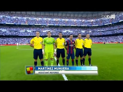 La Liga 25 10 2014 Real Madrid vs Barcelona – HD – Full Match – 1ST – English Commentary 1
