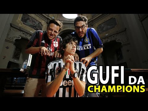 JUVE REAL MADRID – GUFI DA CHAMPIONS