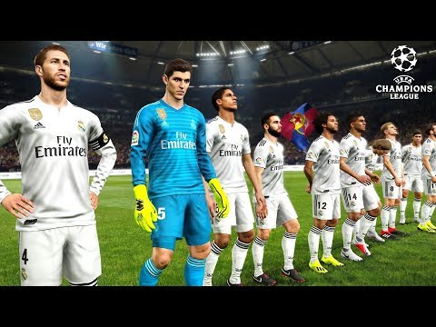 REAL MADRID vs ROMA | Champions League 19 September 2018 Gameplay
