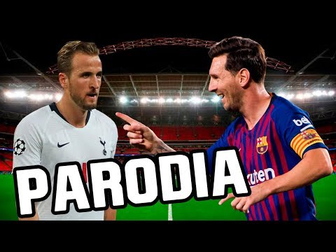 Canción Barcelona vs Tottenham 4-2 (Parodia Vaina Loca – Ozuna x Manuel Turizo)
