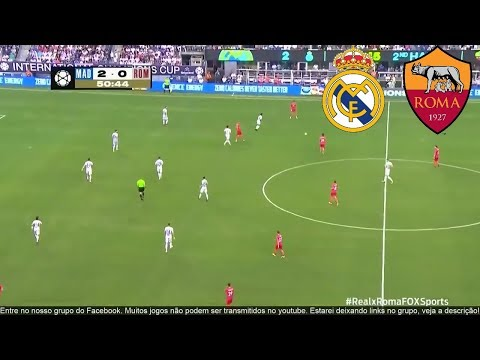 REAL MADRID vs AS ROMA  FULL MATCH HD – ICC CUP | AUGUST 07, 2018