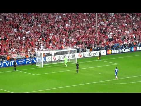 Champions League Final 2012 – Chelsea vs Bayern Munich climax of penalty shootout