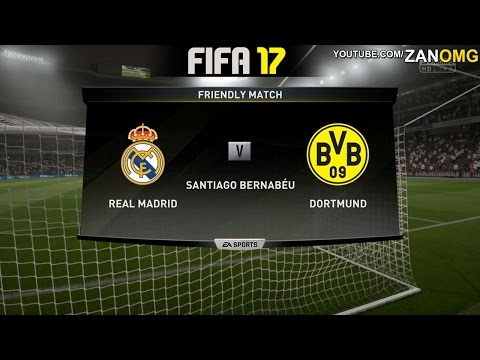 FIFA 17 | Borussia Dortmund vs Real Madrid | Full Match Gameplay (PS4/XBOX ONE) HD 1080p