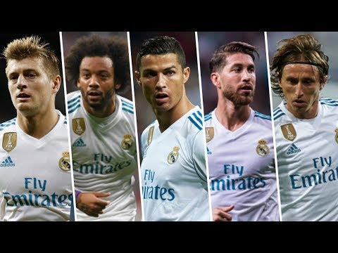 Best Football Skills Mix ● Real Madrid Squad (FIFA FIFPro 2017)