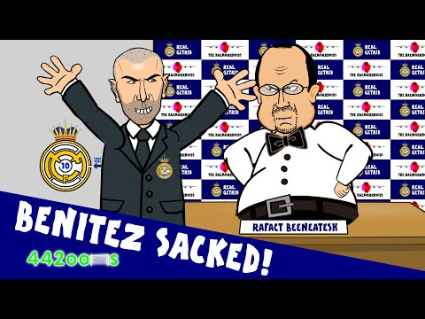 Rafa Benitez Sacked – My Way Parody Song! (Zidane – the Real Madrid Manager!)