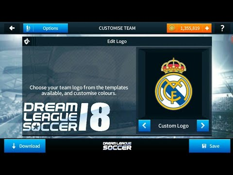 How To Import Real Madrid Logo and Kits In Dream league soccer 2018!!!