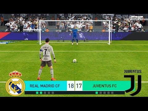 PES 2018 | REAL MADRID vs JUVENTUS FC | Penalty Shootout | Ronaldo vs Real Madrid | Gameplay PC