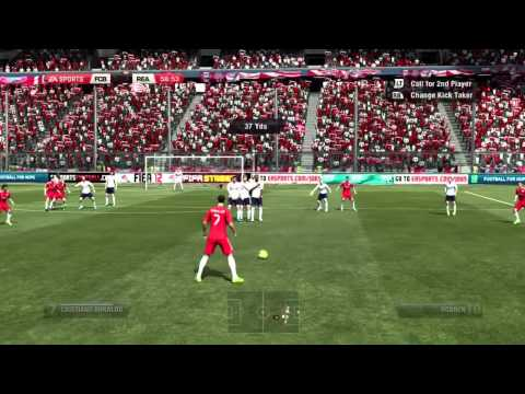 FIFA 12 H2H DIVISION 1 BAYERN VS REAL MADRID