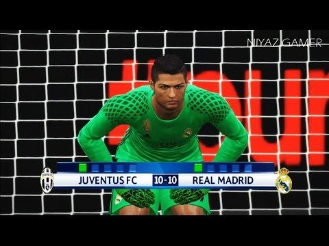 goalkeeper DYBALA vs goalkeeper RONALDO | Juventus vs Real Madrid | UCL | Penalty Shootout