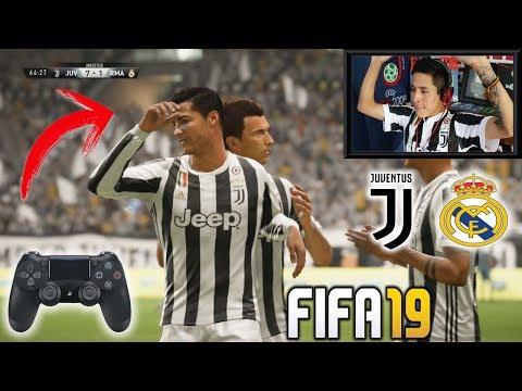 Duelo ÉPICO!!! REAL MADRID vs JUVENTUS de CRISTIANO RONALDO | Fifa 18
