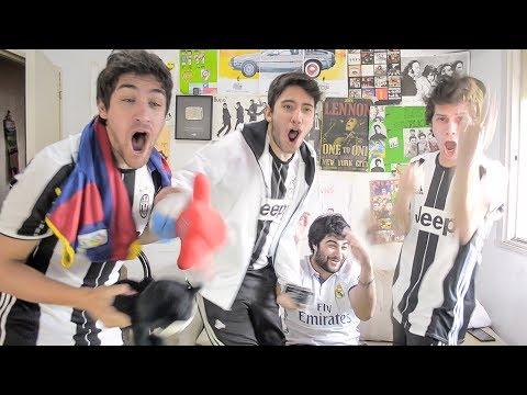 Real Madrid vs Juventus | Champions League FINAL | Reacciones Amigos