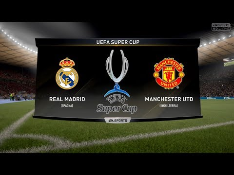 REAL MADRID VS MANCHESTER UTD – UEFA SUPER CUP 08/08/2017 |FIFA 17 Predicts – Pirelli7
