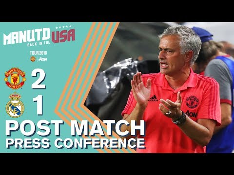 Lukaku & Rashford to return! | Manchester United 2-1 Real Madrid | Jose Mourinho Press Conference