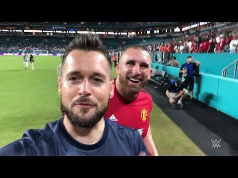 Mojo Rawley, Mike Rome take in Manchester United vs. Real Madrid