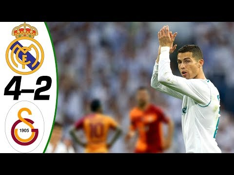 Real Madrid Vs Galatasaray 4 2 Highlights And Goals Resume Golleri Friendly