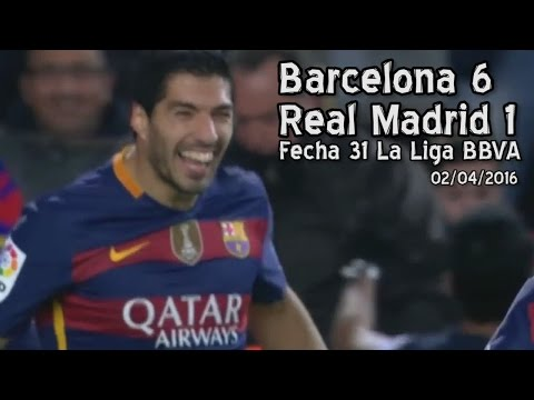 Barcelona 6 – Real Madrid 1 (Parodia)