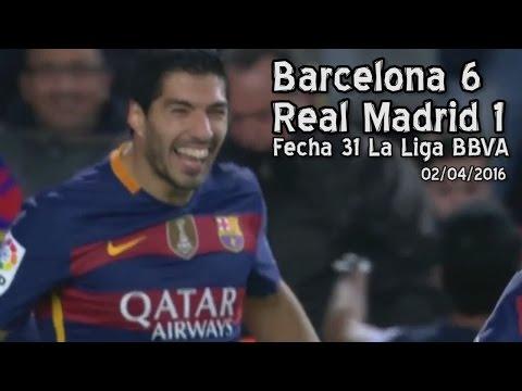 Barcelona 6 – Real Madrid 1 (Parodia)