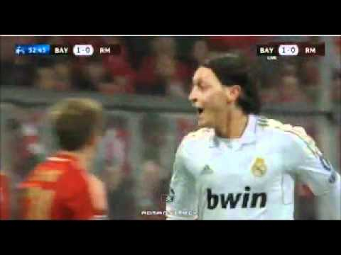 Goals Bayern Munich Real Madrid 2-1 (17-4-2012)