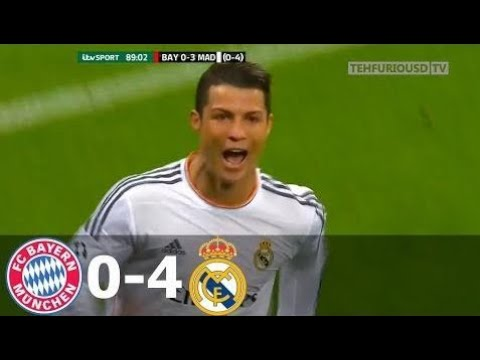 Bayern Munich vs Real Madrid 0-4 Goals and Highlights with English Commentary (UCL) 2013-14 HD 720p