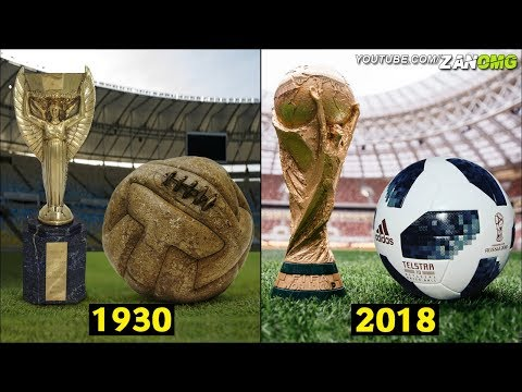 The Evolution Of The Official World Cup Ball [1930-2018]