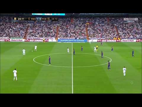 REAL MADRID TIKI TAKA SHOW vs BARCELONA  ►EL CLÁSICO SUPERCUP 2017 •  ZIDANE SYSTEM PRESSING TATIC