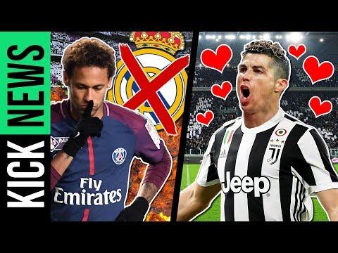 Neymar will nicht zu Real! So zeigt Juve Ronaldo seine Liebe! | KickNews