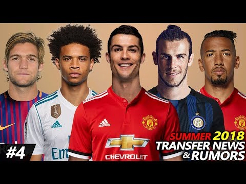 LATEST TRANSFER NEWS & RUMOURS SUMMER 2018 #4 | Ft. RONALDO, SANE, BOATENG, ALONSO…