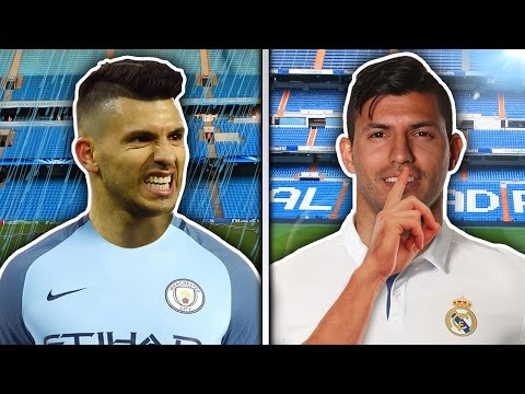 Sergio Aguero In Secret Talks With Real Madrid?! | Transfer Talk