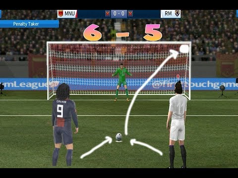 Dream League Soccer – REAL MADRID vs PSG 🏆 Penalty Shootout 6-5 | Gameplay