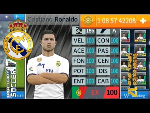 genial nuevo super hack dream league soccer 2017 real madrid al 100% + monedas infinitas sin root