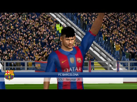 Dream league soccer 2016 | Fc Barcelona Vs Real Madrid