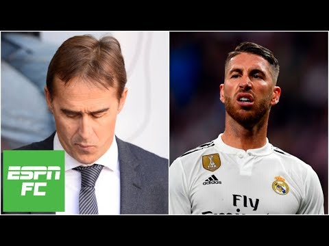 Real Madrid sacks Julen Lopetegui, Sergio Ramos reacts with less-than-kind comments | La Liga