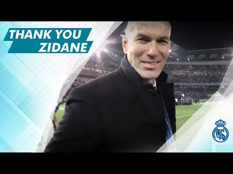 ZIDANE, Thank you…