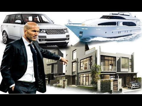 [ New ] Zinédine Zidane – Cars , House , Family , Biography and All Information 2018