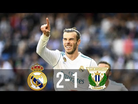 Real Madrid vs Leganes 2-1 – All Goals & Extended Highlights – La Liga 28/04/2018 HD
