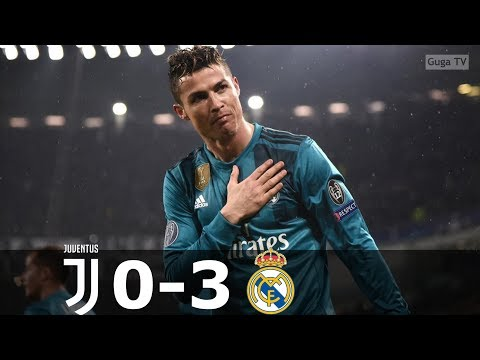 Juventus vs Real Madrid 0-3 – UCL 2017/2018 – Highlights (English Commentary) HD