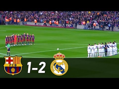 Barcelona vs Real Madrid 1-2 |  All Goals & Extended Highlights
