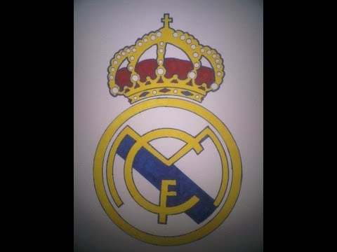 How to Draw the Real Madrid logo (Cómo Dibujar el logo del Real Madrid CF)
