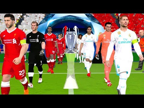 UEFA Champions League 2018 Final – Liverpool vs Real Madrid Gameplay