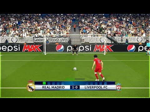 REAL MADRID vs LIVERPOOL FINAL UEFA CHAMPIONS LEAGUE PENALTY SHOOTOUT