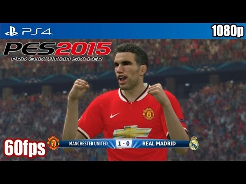 PES 2015 (PS4) – Manchester United vs Real Madrid (60fps) [1080p] TRUE-HD QUALITY
