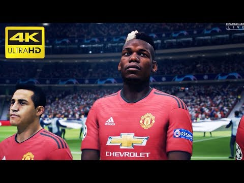 FIFA 19 | Manchester United vs Real Madrid | UEFA Champions League | – PS4 Pro 4K