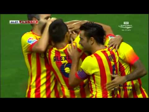 Atletico Madrid vs Barcelona 1 – 1 All Goals and Highlights [22.08.2013] [HD]